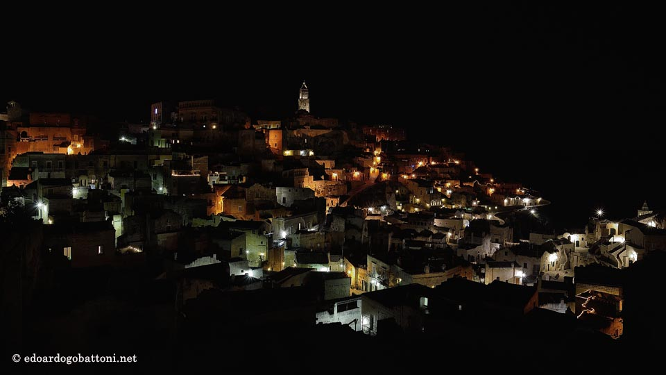 960-MATERA BY NIGHT-EDOARDO GOBATTONI
