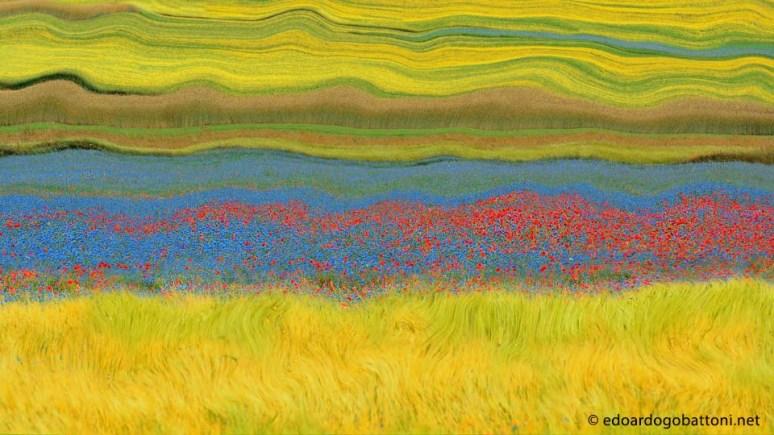 960-Abstract Landscape #3 -EDOARDO GOBATTONI